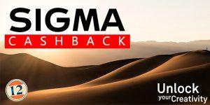 SIGMA – CASHBACK SETTEMBRE 2020 – Unlock your Creativity
