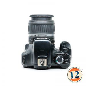 Canon 1100D con 18/55