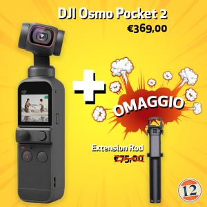 DJI Osmo Pocket 2 – Garanzia Fowa Italia