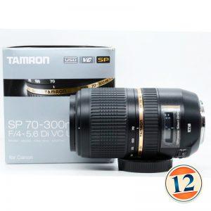 Tamron SP 70-300mm f/4-5.6 Di VC USD X Canon