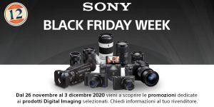 SONY Black Friday SCONTO IN CASSA dal 26 novembre al 3 dicembre 2020 !
