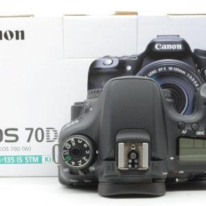 Canon 70D Solo Corpo