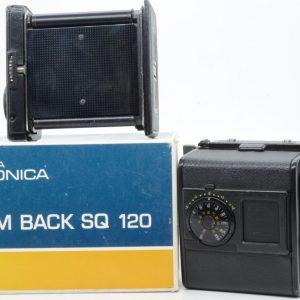 Zenza Bronica SQ 120 film back