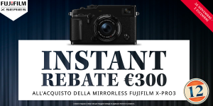 Fujifilm Istante Rebate dal 26 novembre al 2 dicembre !