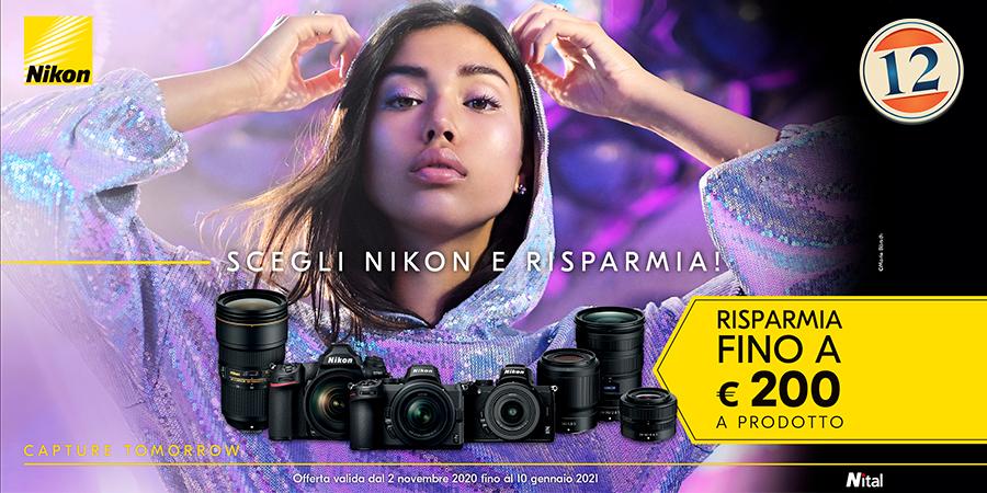 Nikon Sconto in Cassa Winter 2020