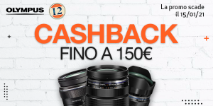Olympus CashBack Ottiche fino a 150€