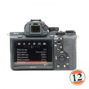 Sony A7s II Corpo