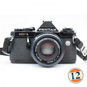 Pentax MV1 con Pentax 50mm f 1:2
