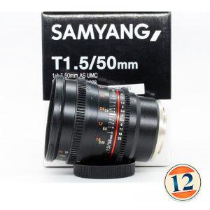 Samyang VDSLR 50mm T1.5 AS UMC X Sony