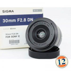 Sigma 30mm f/2.8 DN x Sony ( DEMO )
