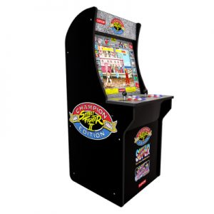 Cabinato Arcade1UP giochi inclusi Street Fighter II Champion Edition, Street Fighter II The New Challengers, Street Fighter II Turbo