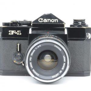 Canon F-1 con ob.35 mm f 3,5
