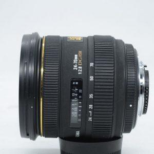 Sigma 24-70mm f/2.8 EX DG HSM x Nikon
