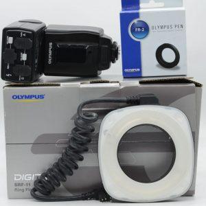 Olympus SRF-11 + ANELLO Flash Anulare