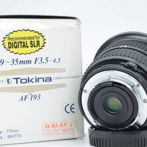 Tokina 19-35mm f/3.5-4.5 x Nikon