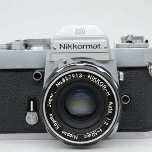 Nikkormat EL + Nikkor 50mm f 1,8