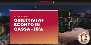 Samyang – AF in Primavera
