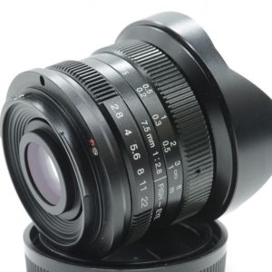 7artisans 7.5mm f/2.8 X Canon