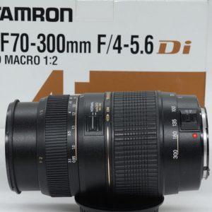 Tamron 70-300mm f/4-5.6 Di LD Macro x Canon