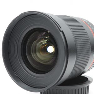Samyang 16mm f/2.0 ED x Canon EF Manuale
