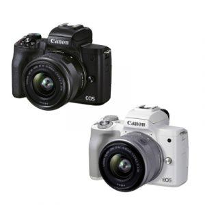 Canon EOS M50 Mark II con 15/45 – Garanzia Canon Italia