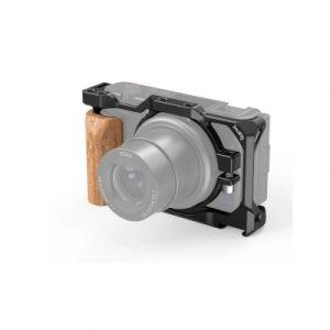 SmallRig Cage per Sony ZV1 con Impugnatura in Legno