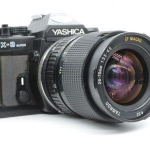 Yashica FX-3 Super con Tamron 28/70 F3.5-4.5