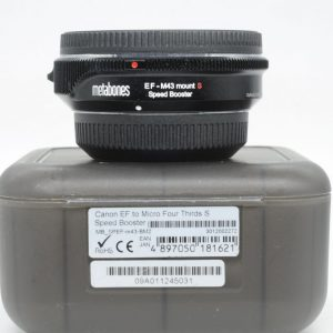 Metabones Canon EF Lens to Micro Four Thirds Speed Booster S