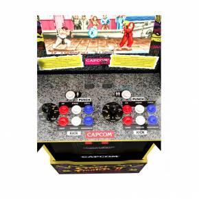 Cabinato Arcade1Up Capcom Legacy (12 giochi) + Riser Personalizzato