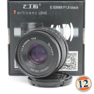 7artisans 50mm f/1.8 x Sony e Fujifilm