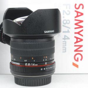 Samyang 14mm f/2.8 Manual Focus X Canon