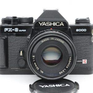 Yashica FX 3 Super 2000 + 50mm