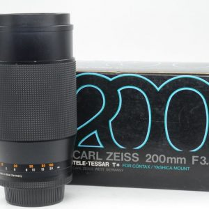 Contax-Yashica Zeiss Tele-Tessar T* 200mm F3.5