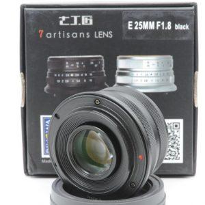 7artisans 25mm f/1.8  APS-C x Sony