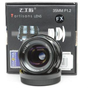 7artisans 35mm f/1.2 x Fujifilm – Sony f/2