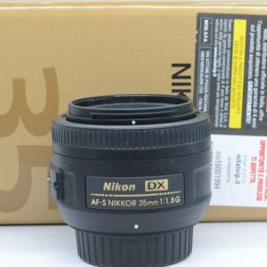 Nikon AF-S DX 35mm f/1.8 G