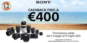 Sony Cashback EDIZIONE ESTIVA fino al 31 Luglio 2021 !