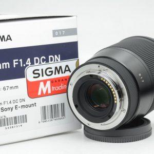 Sigma 16mm f/1.4 DC DN x Sony