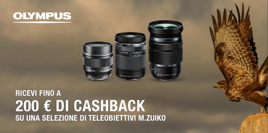 olympus 200€ cashback agosto2021