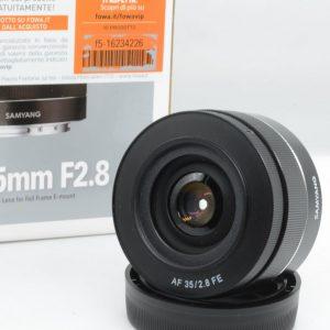 Samyang AF 35 F 2,8 X Sony