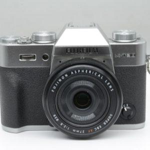 Fujifilm X-T30 con 27mm F2.8