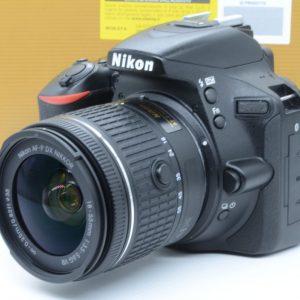Nikon D5600 con 18/55