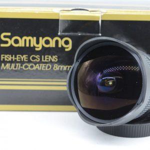 Samyang 8mm f/3.5 Fisheye x Cano