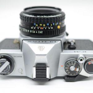 Pentax KM con 50mm