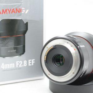 Samyang AF 14mm f/2.8 X Canon