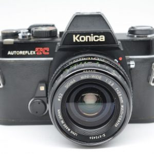 Konica TC + Sigma 28 mm