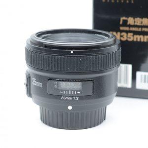 Yongnuo YN 35mm f/2 x Nikon