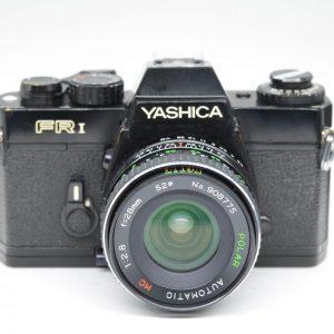Yashica FR1 con Polar 28mm f 2,8
