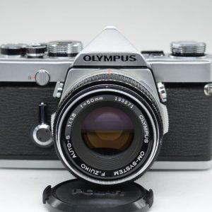 Olympus OM-1 con 50mm f1.8